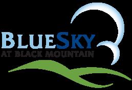 Blue Sky at Black Mountain Logo