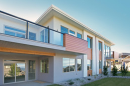 dunbar villa exterior in bluesky kelowna